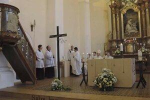 Slávnostná konsekrácia kostola sv. Márie Magdalény.