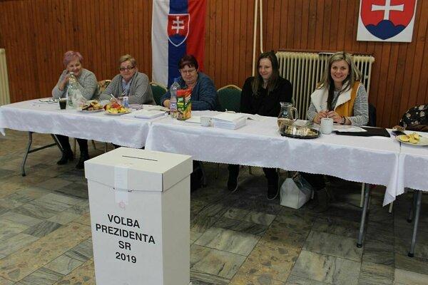 V podhorskej obci Mojtín volili domáci aj chalupári. V komisii bola veselá nálada.