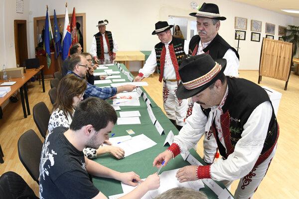 Volebná komisia (ilustračná fotografia).