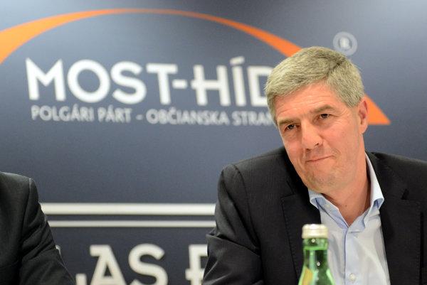 Predseda strany Most-Híd Béla Bugár