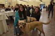 Prví dvaja psí terapeuti a ich nové majiteľky.