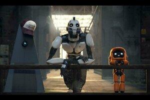 V jednom z dielov Love, Death + Robots spoznávajú roboti ľudský svet.