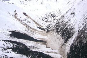 Záber z vrtuľníka