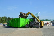 Prekládková stanica odpadu Cemjata.