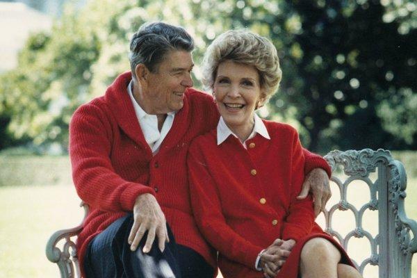 Manželia Reaganovci.