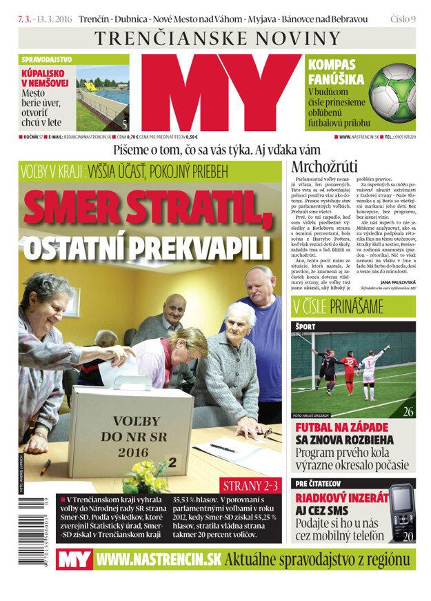 MY Trenčianske noviny.