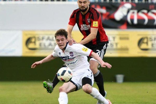 Róbert Gešnábel v nedeľu debutoval v drese FC ViOn.