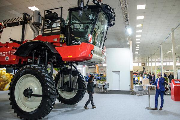 Atmosféra počas 7. ročníka medzinárodného poľnohospodárskeho veľtrhu Agrosalón 2019 na výstavisku Agrokomplex v Nitre.