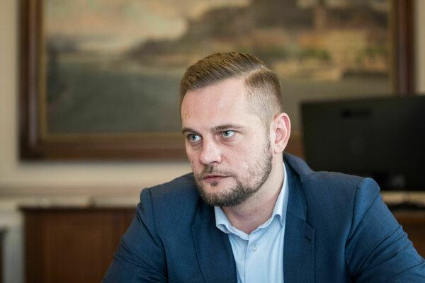 Viceprimátor Bratislavy Juraj Káčer.