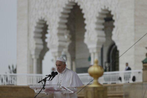 Pápež v Maroku.