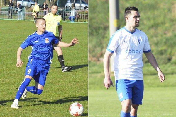 Martin Čulák a Jakub Kečkéš kopli loptu nechytateľne.