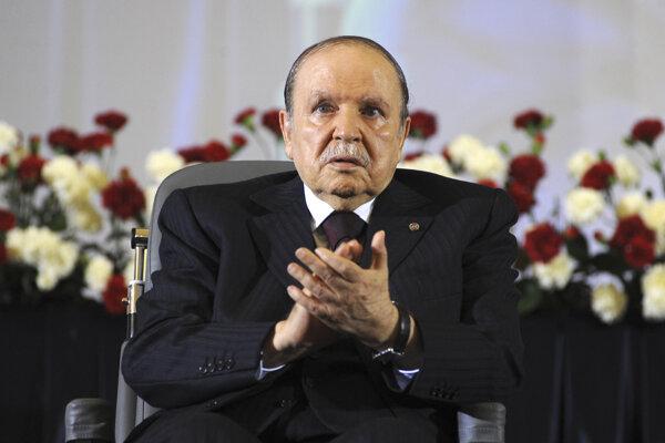 Alžirsky prezident Abdal Azíz Buteflika.