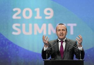 Manfred Weber, predseda frakcie ľudovcov v Európskom parlamente.