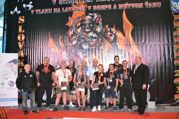 Partia z Pro Body & Metal Militia na vlaňajšom šampionáte.