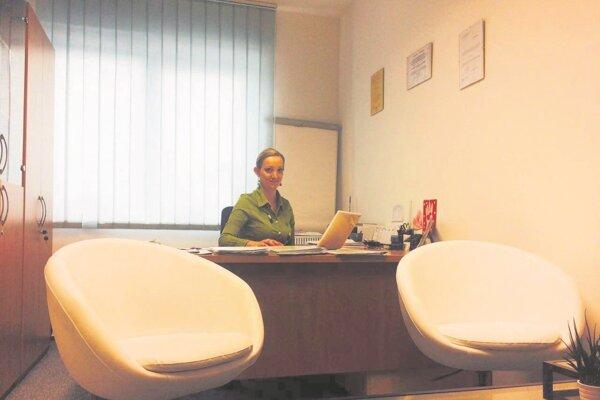Mediátorka Veronika Regendová