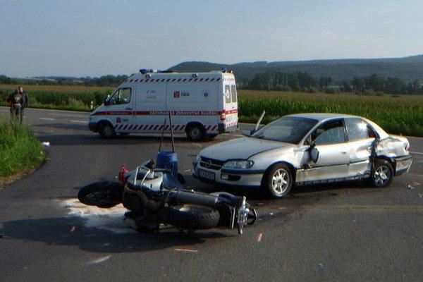 Naštastie, pri nehode sa nikto smrteľne nezranil.