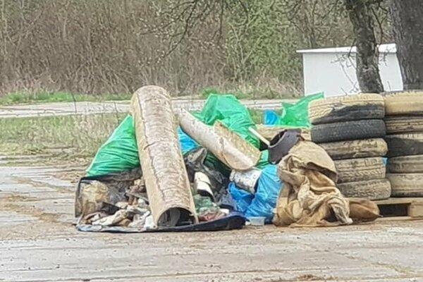 Časť odpadu z Domaše.