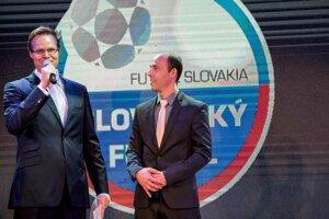 Tréner roka 2018 Marián Berky (vpravo).
