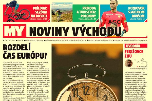 Striedanie času, národný park Poloniny, obec Fekišovce. Aj týmto témam sa venuje týždenník MY Noviny východu. (ZDROJ: REDAKCIA)