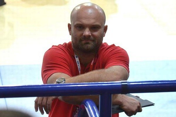 Tréner lučeneckého Junioru Michal Bokor.