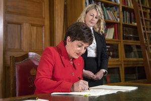 Generálna guvernérka Patsy Reddyová.