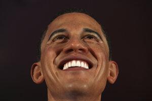 Barack Obama ako živý je v múzeu voskových figurín vo viacerých mestách.