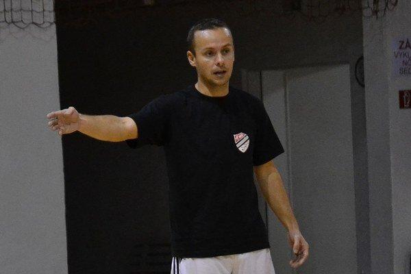 Hrajúci tréner Futsal klubu Lučenec Attila Fehérvári.