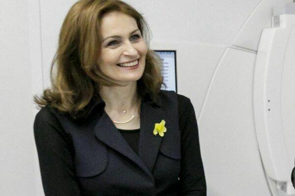 Ministerka zdravotníctva SR Andrea Kalavská.