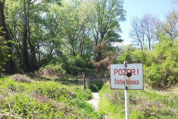 Slovensko-rakúska hranica ohraničuje aj Pečniansky les.