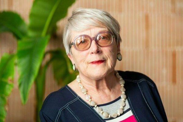 Spisovateľka Etela Farkašová.