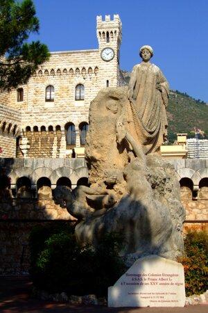 Kniežací palác v Monaku