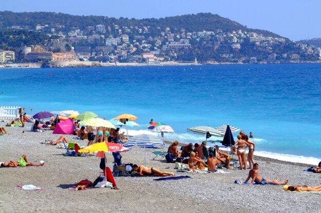 Azúrové pobrežie v centre Nice