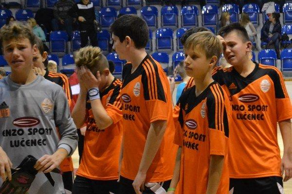 Hráčov ŠK Novohrad po finále ovládol smútok. Skončili síce na vynikajúcom 2. mieste, no prvenstvo mali na dosah.