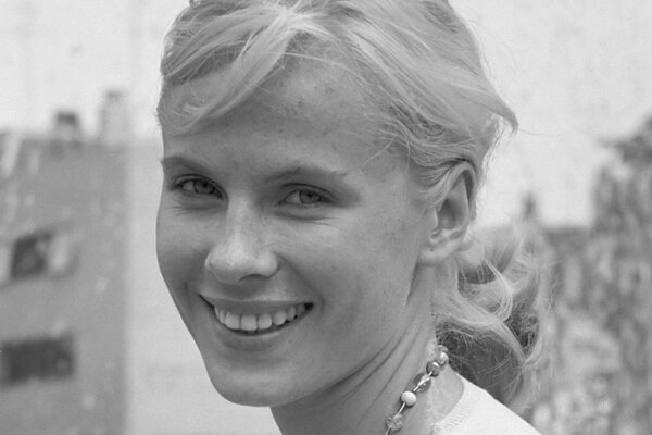 Bibi Anderssonová na fotografii z roku 1961.
