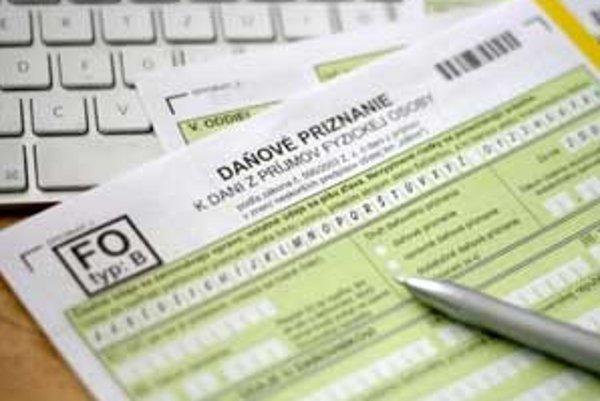 Tlačivá k daňovým priznaniam k dani z príjmov fyzických osôb, a to typ A a B, by mali byť pritom zverejnené najneskôr do 11. februára.