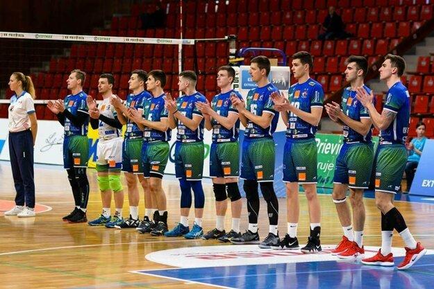 Volejbalisti Prievidze túžia po titule.