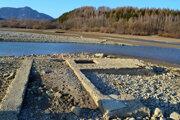 Aj časť Bobrovníka skončila pod vodou. Takto sa vynárajú základy.