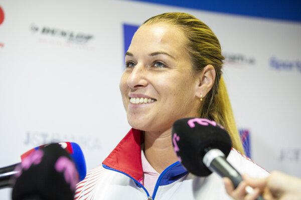 Dominika Cibulková.
