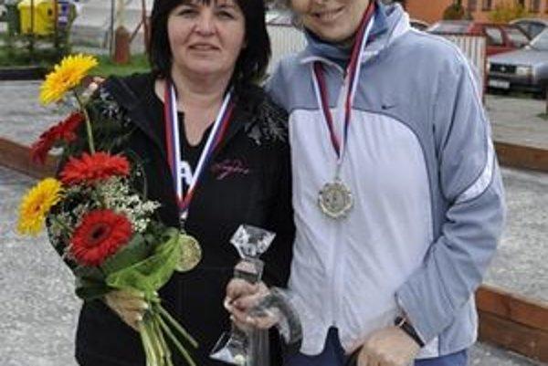 Iveta Vilhanová (vľavo) s Nadeždou Nagyovou.
