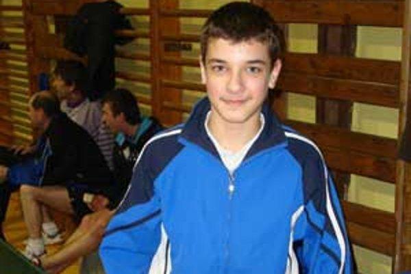 Niklas Péter bol svetlým zjavom turnaja v Nitre.