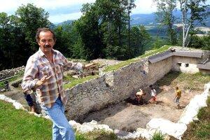 Takto si ho pamätáme. Václav Hanuliak na Pustom hrade.