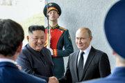 Vo Vladivostoku sa začal summit Kim-Putin.