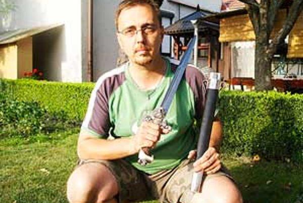 Nože z dielne Róberta Kováčika nájdete po celom svete.