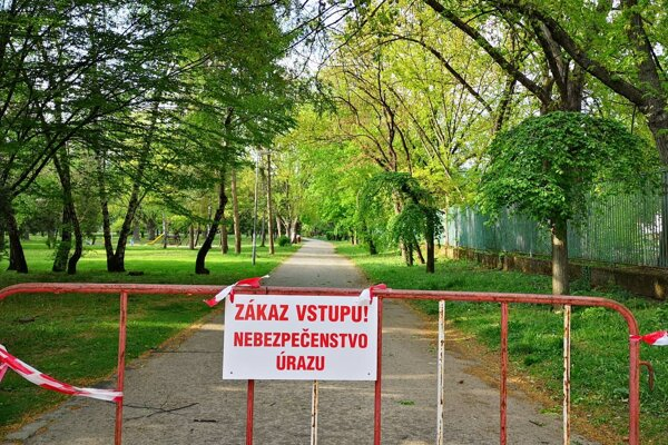 Park bol uzavretý tri dni.