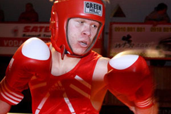 David Zold v ringu.