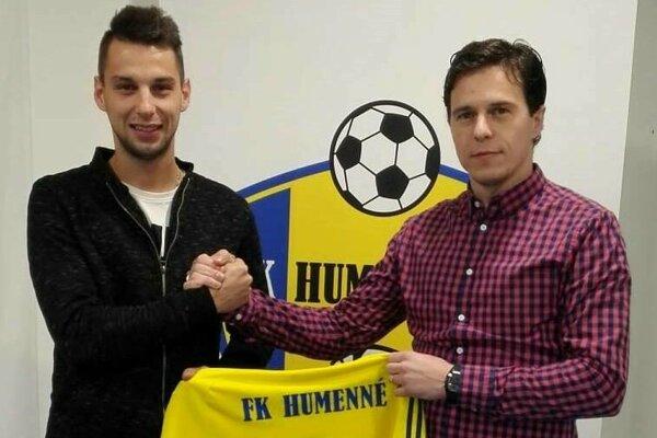 Vladimír Vasilenko (vpravo) priviedol do klubu viacero posíl, medzi nimi napríklad aj útočníka Dušana Janka.