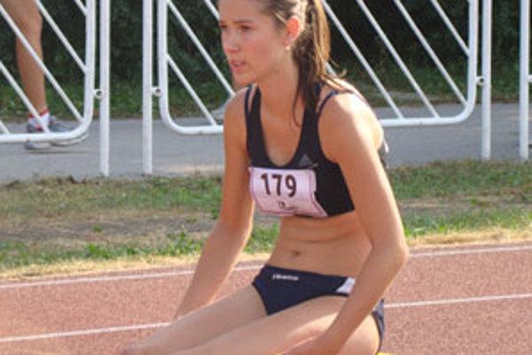 Najlepší výsledok medzi staršími žiačkami dosiahla Božidara Paprnáková.