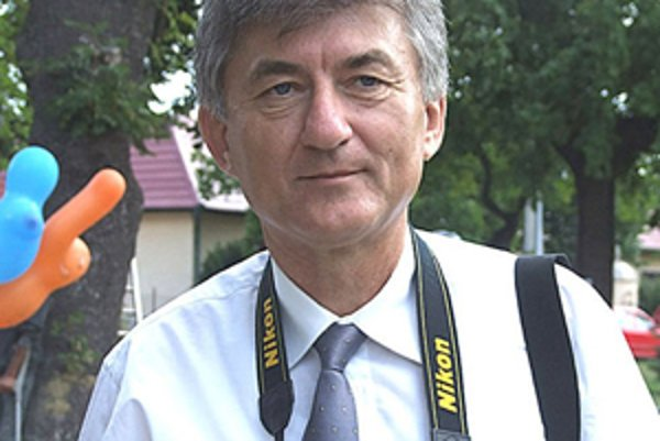 Starosta obce Halič Vladimír Rehanek.