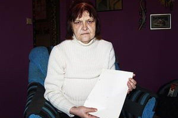 Vdova Helena Karmanová.