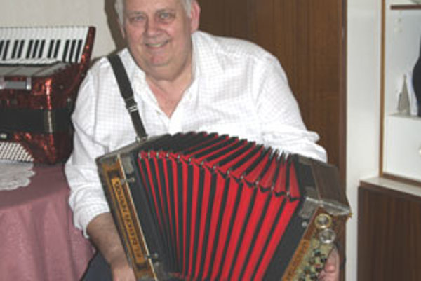 Rudolf Václavík. Láska k hudbe ho sprevádzala celý život.